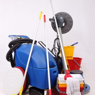 also put on janitorial supplies page